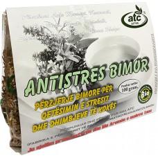 ANTISTRES BIMOR - PERZIERJE BIMORE PER QETESIMIN E STRESIT DHE DHIMBJEVE TE KOKES 100 g - ATC NATYRAL