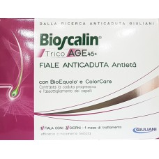 Bioscalin® TricoAGE 45+ Fiale Anticaduta Antietà X 10 FLAKON - GIULIANI