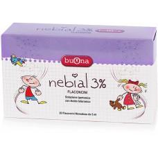 NEBIAL 3 % 20 FLACONICINI - BUONA
