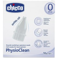 PHYSIOCLEAN 10 RICAMBI MORBIDI - CHICCO