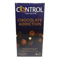 PROFILAKTIK CONTROL CHOCOLATE ADDICTION X 6 COPË