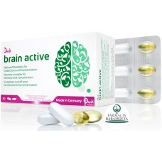 BRAIN ACTIVE x 30 TABLETA + 30 KAPSULA XHELATINOZE - DENK NUTRITION