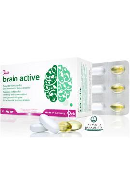 BRAIN ACTIVE x 30 TABLETA + 30 KAPSULA XHELATINOZE - DENK NUTRITION