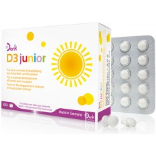 VITAMIN D3 JUNIOR X 100 TAB - DENK NUTRITION