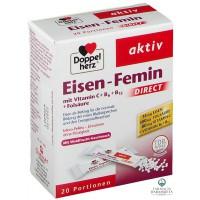 EISEN - FEMIN DIRECT x 20 BUSTINA (HEKUR & AC.FOLIK) - DOPPEL HERZ®