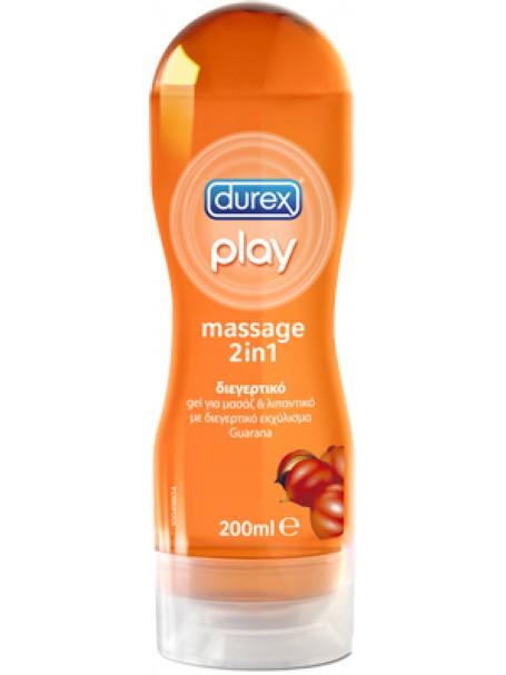 Durex® Play Massage 2 In 1 Guarana Gel 200ml  - LUBRIFIKANT ME GUARANA - DUREX®