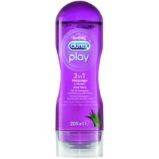 Durex® Play 2 in1 Massage & Lubricating Gel Aloe Vera - LUBRIFIKANT ME ALOE VERA - DUREX®