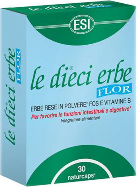 LE DIECI ERBE FLOR X 30 TAB - ESI