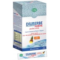 DIURERBE FORTE POCKET DRINK X 24 POCKET 20 mL - ESI