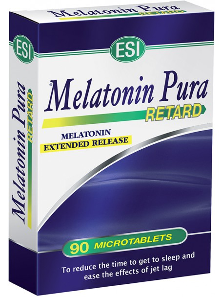 MELATONIN PURA RETARD 1 mg X 90 MICROTABLETA - ESI