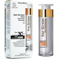SUN SCREEN VELVET FACE 50 ml - SPF 30 - FREZYDERM