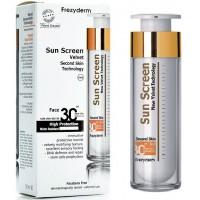 SUN SCREEN VELVET FACE 50 ml - SPF 30 - FREZYDERM