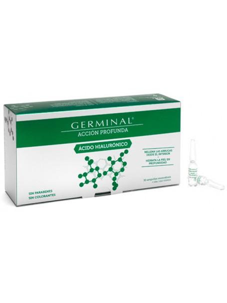 GERMINAL® ACCIÓN PROFUNDA X 30 AMPULA - ACID HIALURONIK