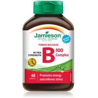 VITAMIN B COMPLEX TIMED RELEASE X 60 TABLETA - JAMIESON