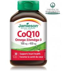 COQ10 OMEGA 3 x 30 KAPSULA - JAMIESON
