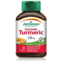 TURMERIC 550 mg X 60 KAPSULA (CURCUMIN) - SHAFRAN I INDISË -  JAMIESON