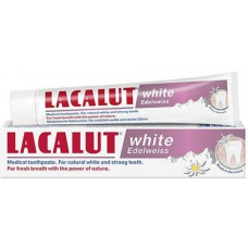 LACALUT WHITE EDELWEISS - PASTE DHEMBESH 75 mL - LACALUT