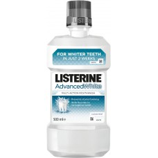 LISTERINE ADVANCED WHITE MOUTHWASH 500 mL - LISTERINE
