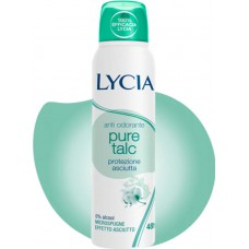 ANTI ODORANTE PURE TALK - DEODORANT SPRAY ME PUDER TALK 150 mL - LYCIA