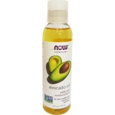VAJ AVOKADO - AVOCADO OIL 118 mL - NOW® SOLUTIONS