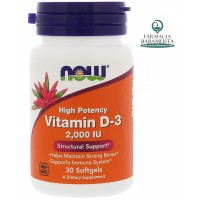 VITAMIN D3 2000 IU - NOW FOODS