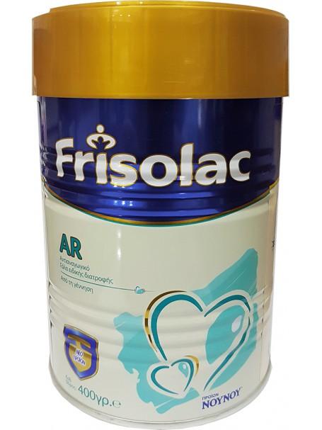 FRISOLAC AR 400 g - FRISOLAC AR QUMËSHT ANTIREFLUKS 0-12 MUAJSH - NOY NOY