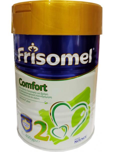 FRISOMEL COMFORT 2 400 g - QUMËSHT FORMULE 6-12 MUAJSH - NOY NOY
