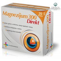 MAGNESIUM 300 mg DIRECT x 20 BUSTINA - NUTRICEL