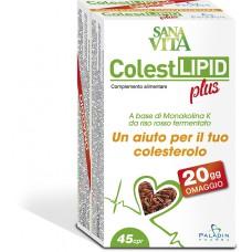 COLEST LIPID PLUS SANAVITA X 45 TAB - PALADIN PHARMA