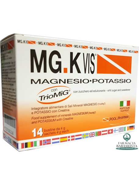 MG.K VIS MAGNESIO & POTASSIO - POOL PHARMA