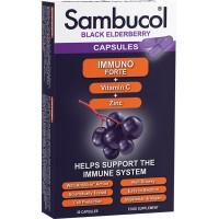 SAMBUCOL IMMUNO FORTE + VITAMIN C + ZINK X 30 KAPSULA
