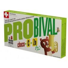 PROBIVAL CHOCO+C+ZN x 20 COKOLLATA TË SHIJSHME NË FORMË ARIU