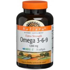 OMEGA 3-6-9 X 100 GELULES - HOLISTA