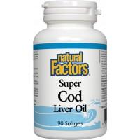 SUPER COD LIVER OIL X 90 - NATURAL FACTORS