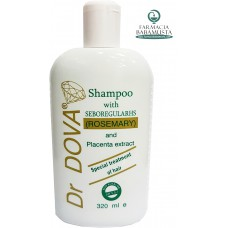 DR DOVA SHAMPOO WITH SEBOREGULAR HS (ROSEMARY) 320 mL