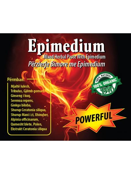 EPIMEDIUM POWERFUL X 5 BUSTINA - PËRZIERJE BIMORE AFRODIZIAKE PËR BURRA DHE GRA