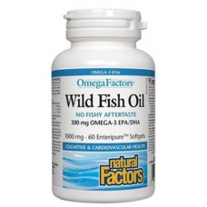WILD FISH OIL X 60 PERLA - NATURAL FACTORS