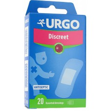 URGO DISCREET X 20 ASSORTED DRESSINGS  - LABORATORIES URGO