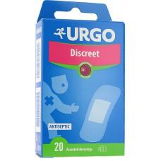 URGO DISCREET X 20 ASSORTED DRESSINGS  - LABORATORIES URGO