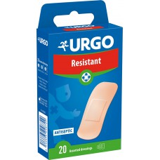URGO RESISTANT 20 ASSORTED  DRESSINGS - LABORATORIES URGO