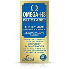 OMEGA H3 BLUE LABEL  30 TABLETA - VITABIOTICS