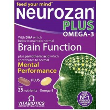 NEUROZAN PLUS OMEGA 3 - VITABIOTICS