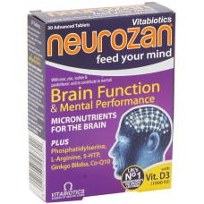 NEUROZAN FEED YOUR MIND X 30 TABLETA - VITABIOTICS