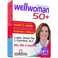 WELLWOMAN 50 + VJEÇ 30 TABLETS - VITABIOTICS