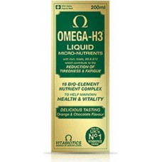 OMEGA - H3 LIQUID MICRO - NUTRIENTS 200 mL - VITABIOTICS