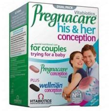 PREGNACARE® HIM&HER CONCEPTION X 60 TABLETA - VITABIOTICS