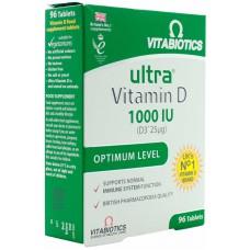 ULTRA VITAMIN D 1000 IU 96 TABLETA - VITABIOTICS