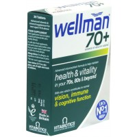 WELLMAN 70 + VJEÇ 30 TABLETA - VITABIOTICS
