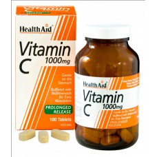 VITAMIN C 1000 mg VEGAN - 100 TABLETA - HealthAid®