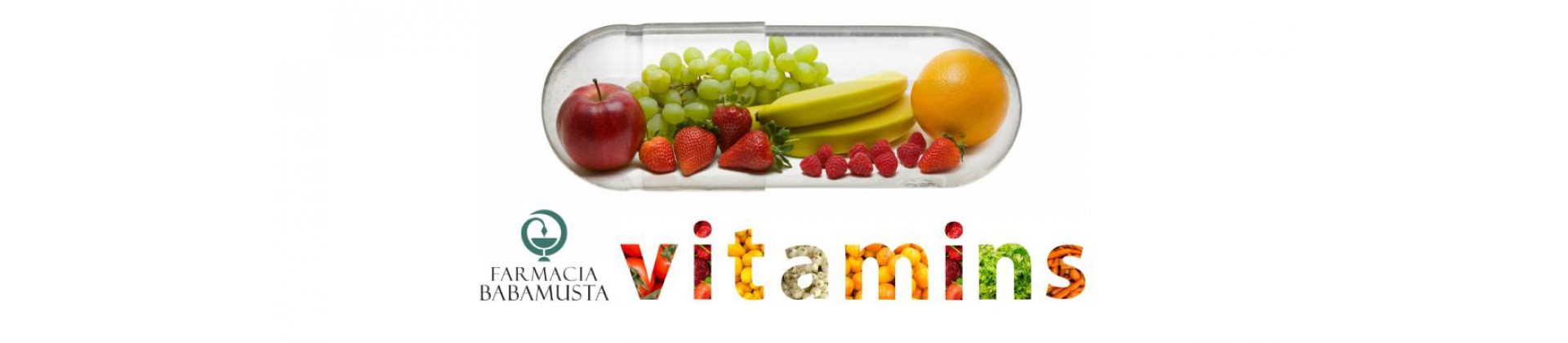 Vitamins by farmacia babamusta